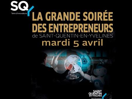 Grande soirée des Entrepreneurs à SQY