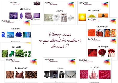 Composition symbolique couleurs