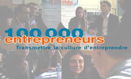 CréActives partenaire de 100.000 entrepreneurs