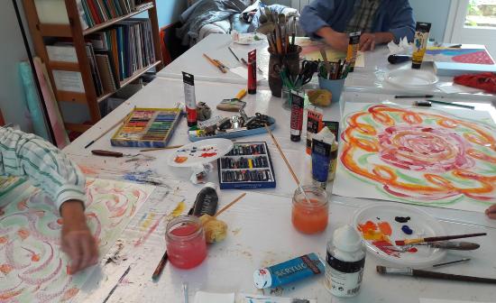 Un atelier d'art-thérapie spécial CréActives