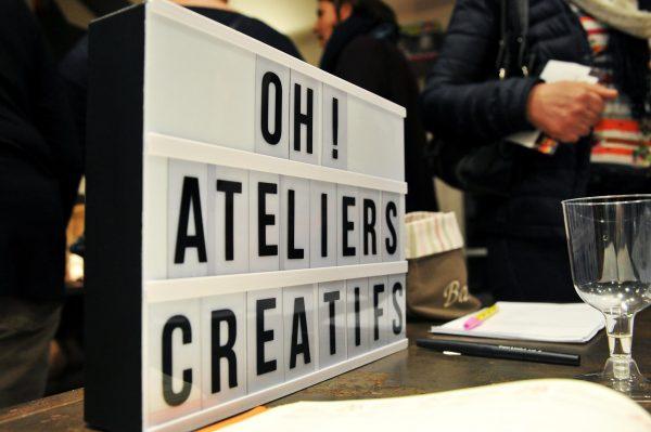 Inauguration des ateliers créatifs chez Oh! Trésors
