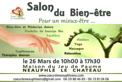 Salon du bien-être à Neauphle le 26 mars