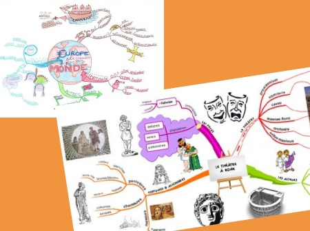 Un atelier mind-mapping parents-enfants