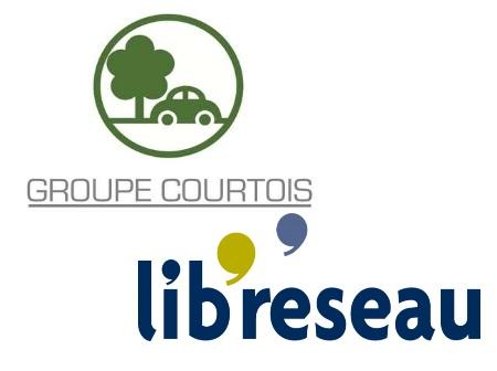 Le Groupe Courtois et Lib'Réseau, partenaires de CréActives