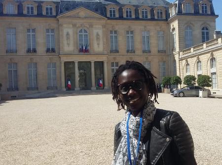 Maïmouna Ba reçue à l'Elysée pour ses crèches inclusives