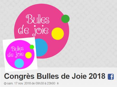 3e édition duCongrès Bulles de Joie