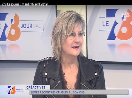 CréActives sur TV78 à l'occasion des Rencontres 2019