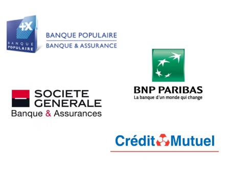 Merci aux 4 grandes banques de SQY qui ont soutenu les Rencontres 2019